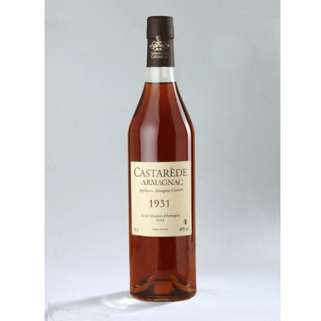 Armagnac Castarède - 1931