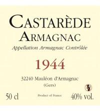 50cl - Armagnac Castarède - 1944*