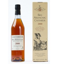 70cl - Armagnac Castarède - 2000