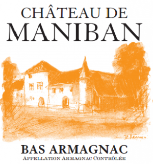 CHATEAU DE MANIBAN ORANGE